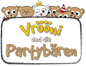 Vrööni und die Partybären - Logo -